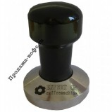Темпер EXPERT CM (Эксперт СМ) стальной, с деревянной ручкой черного цвета, основание 58 мм