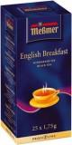 Чай черный Messmer  Английский завтрак  25 пак  1,75г.