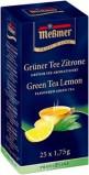 Чай зеленый Messmer с цедрой лимона  25 пак  1,75г.