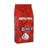 Кофе в зернах Eurocaf Rossa (Еврокаф Мишела Росса), кофе в зернах (1кг), вакуумная упаковка,