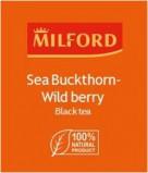 Черный чай Milford Облепиха – Лесные ягоды  в пакетиках, 200 шт
